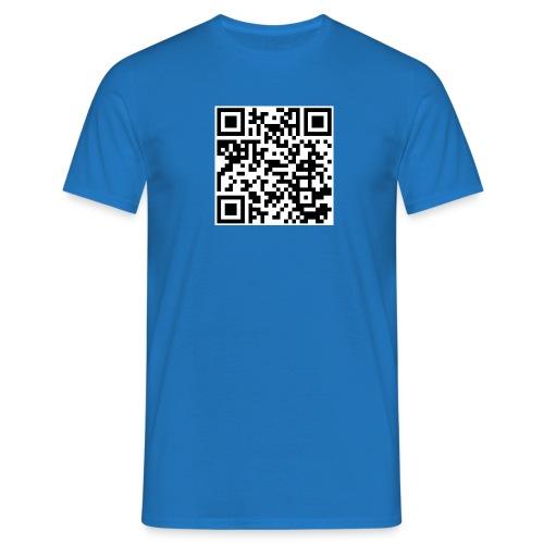 QR code - Männer T-Shirt