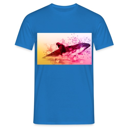 LowpolyWhale - T-shirt Homme