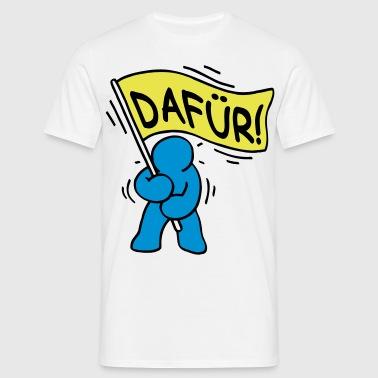 DAFÜR - Männer T-Shirt