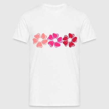 Fleurs kitsch - Koszulka męska