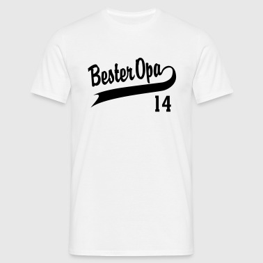 Bester Opa 2014 - Männer T-Shirt