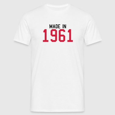 1961 - T-skjorte for menn