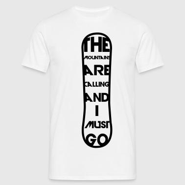 Snowboard 2 - Männer T-Shirt