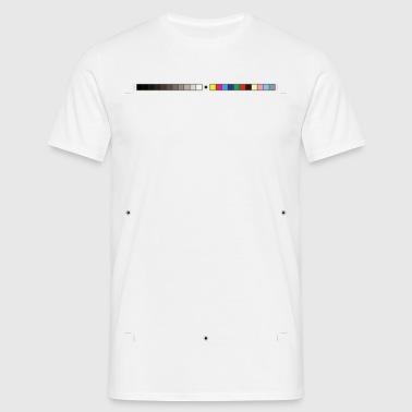 Schnittmarken Crop Marks - Männer T-Shirt