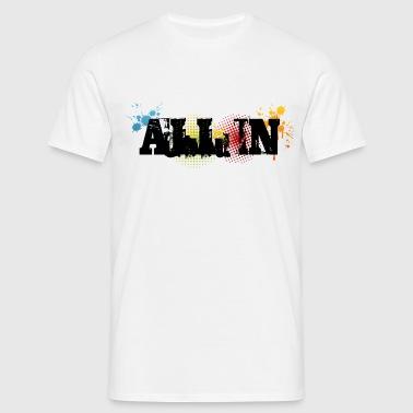 All in, graffiti - T-shirt herr
