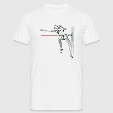high jump - T-skjorte for menn