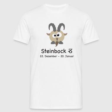 Sternzeichen Steinbock - Männer T-Shirt