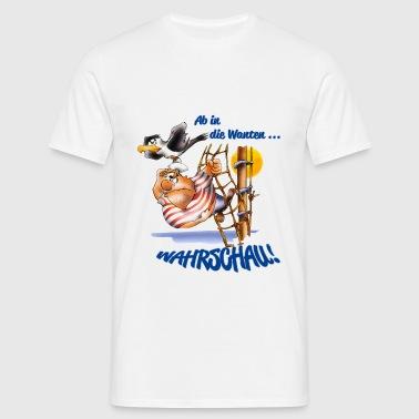 Unter Segeln! - Männer T-Shirt