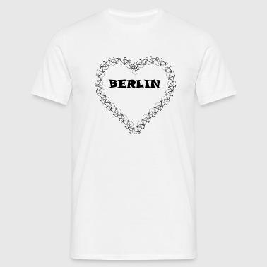 Fahrrad Berlin - Männer T-Shirt