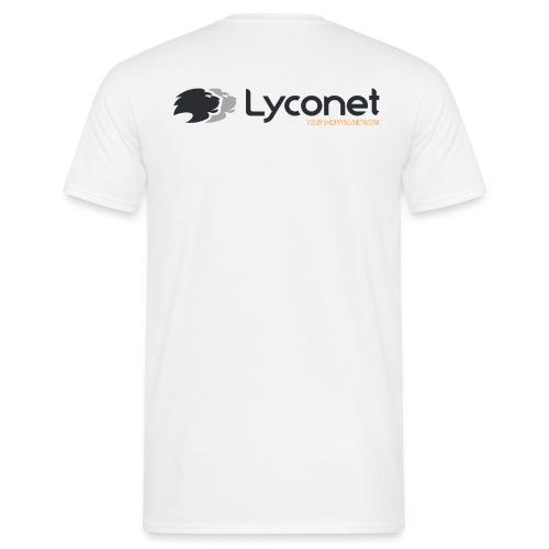 Lyconet White - Maglietta da uomo