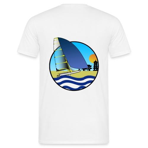 49er sailing Tokio BIG - Männer T-Shirt