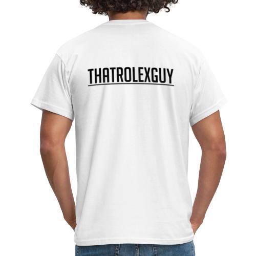 ThatRolexGuy Orginal: Vitt - T-shirt herr