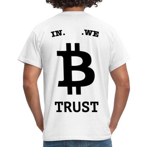 BITCOIN langwerpig - Mannen T-shirt