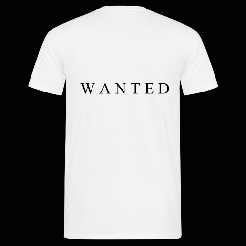 Wanted ecrit - T-shirt Homme
