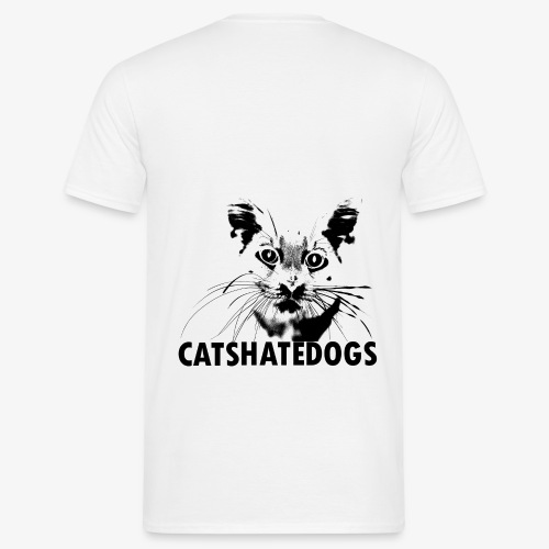 CATS HATE DOGS UNDER - T-shirt Homme
