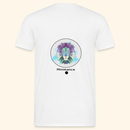 GEOMETRIC LION - T-shirt Homme
