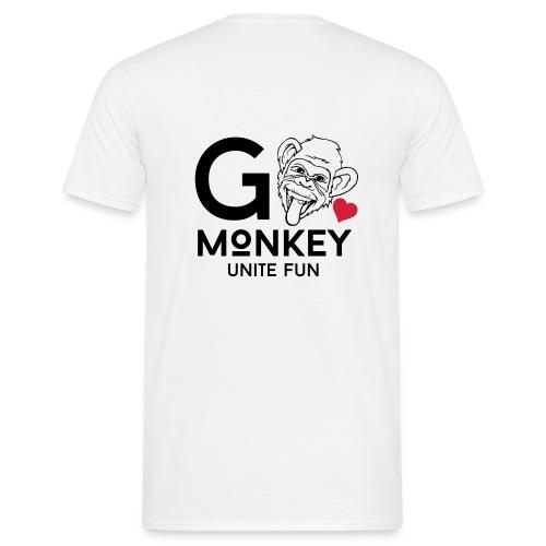 GO MONKEY - Unite fun - T-skjorte for menn