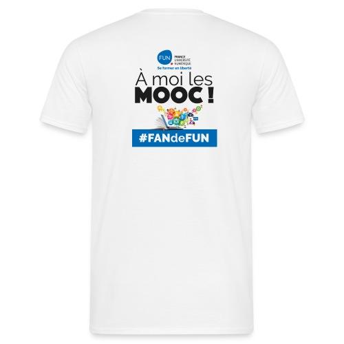 #FANdeFUN : À moi les MOOC ! - T-shirt Homme