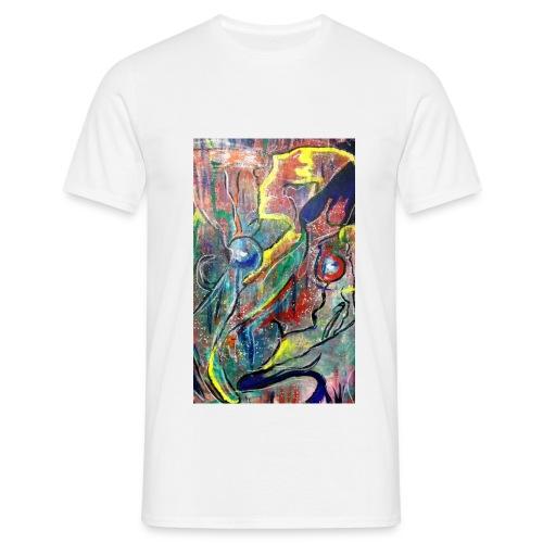 Facing Couples - Männer T-Shirt