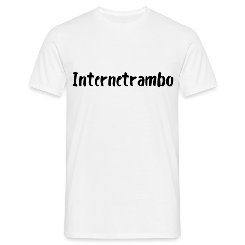 Internetrambo - Männer T-Shirt
