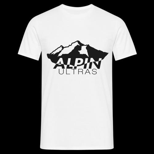 Alpin Ultras Black - Männer T-Shirt