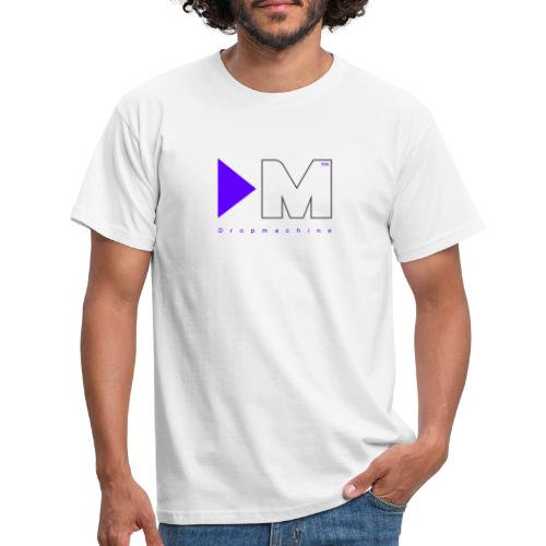 Dropmachine Logo Royalblue - Männer T-Shirt