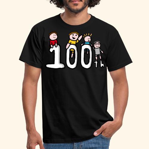 100th Video - Men's T-Shirt