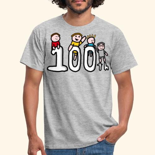 100th Video - Men's T-Shirt