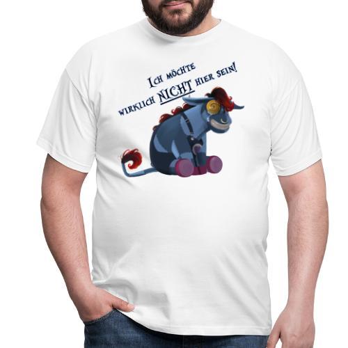 Emo Esel - Männer T-Shirt