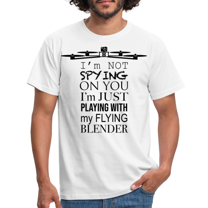 Flying Blender - T-shirt Homme