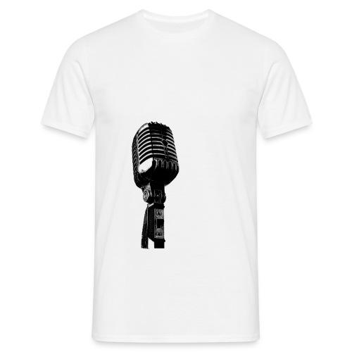 microphone faji png - T-shirt Homme