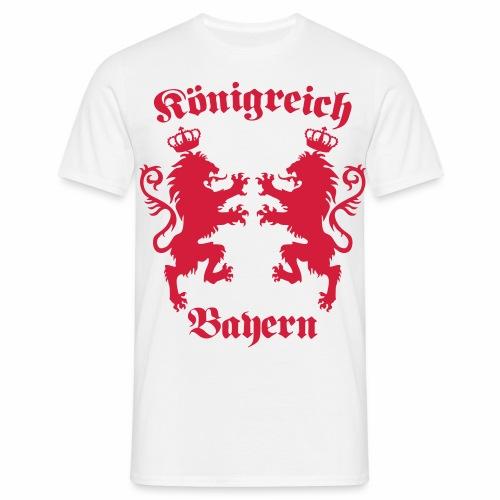 Königreich Bayern Löwen Königreich München c 1c - Männer T-Shirt