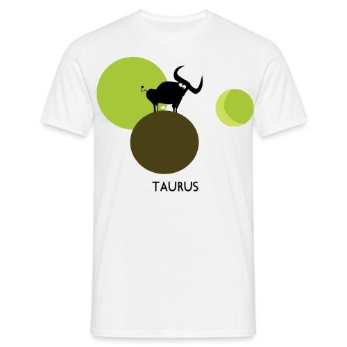 Unconventional zodiac :taurus - Maglietta da uomo