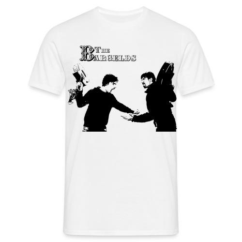 Streit schwarz - Männer T-Shirt