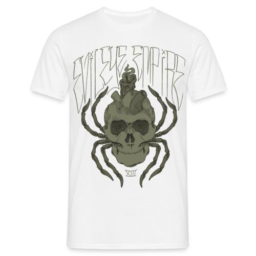 spiderskull gif - Männer T-Shirt