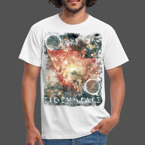 Eigenstate Zero - Sensory Deception WhiteBG - Men's T-Shirt