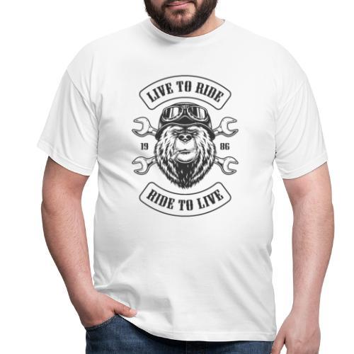 LTR Bear Light - T-shirt Homme