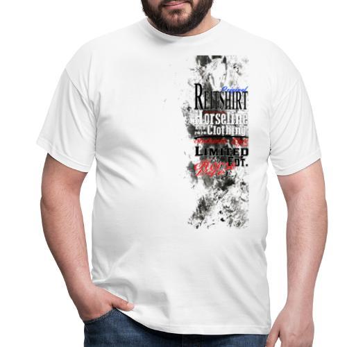 Limited Edition Reit Shirt Pferde Reiten - Männer T-Shirt