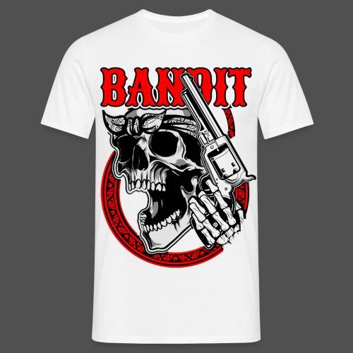 Bandit Skull - Männer T-Shirt