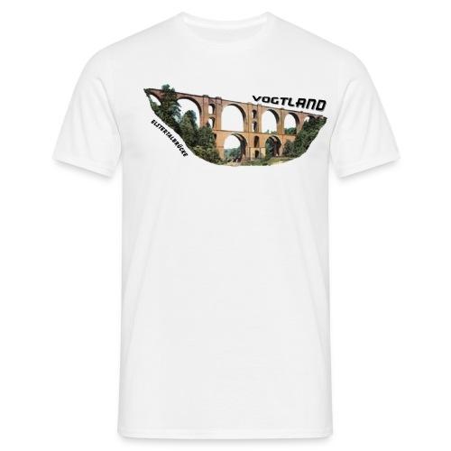 Vogtland Elstertalbrücke - Männer T-Shirt