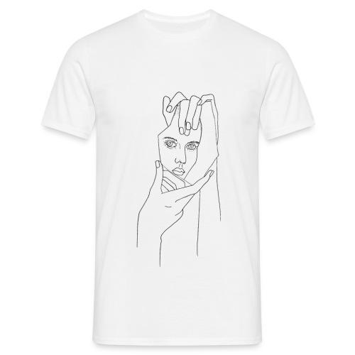 Spiegelsplitter - Männer T-Shirt
