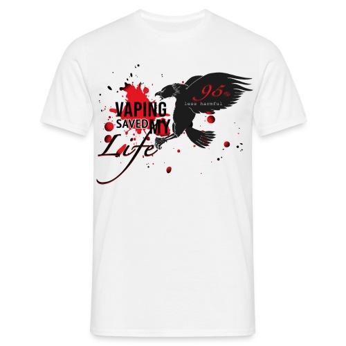 Vaping Saved my Life - Männer T-Shirt