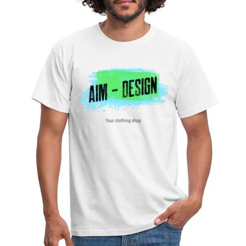 Aim Design - Männer T-Shirt