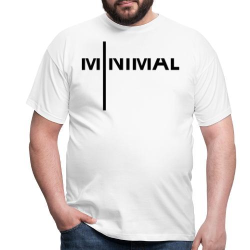 Minimal 2 - Männer T-Shirt