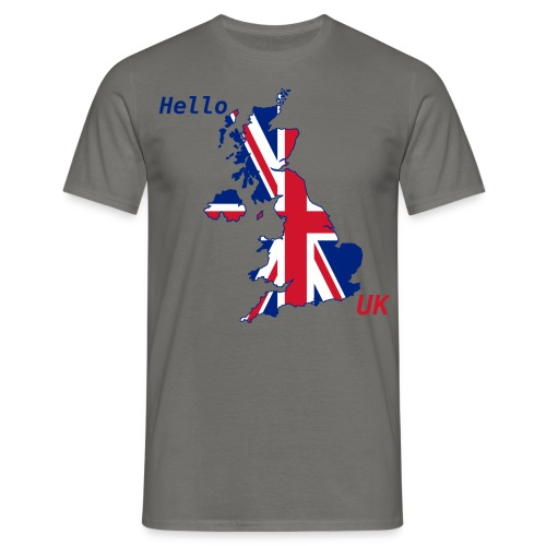 hello UK Kollektion - Männer T-Shirt