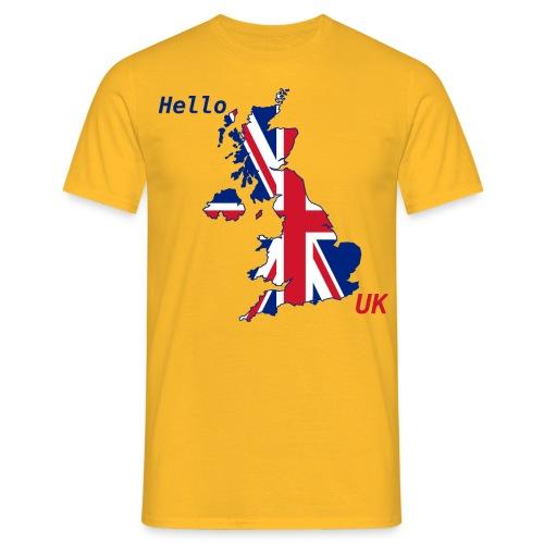 hello UK Kollektion - Männer T-Shirt