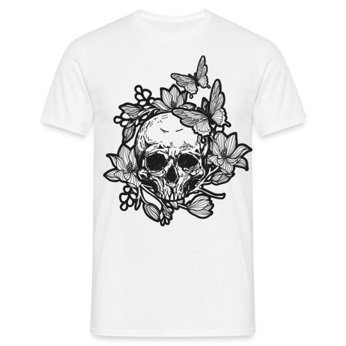 Butterflyskull - Männer T-Shirt