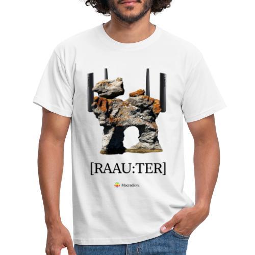 RAAU:TER - T-shirt herr