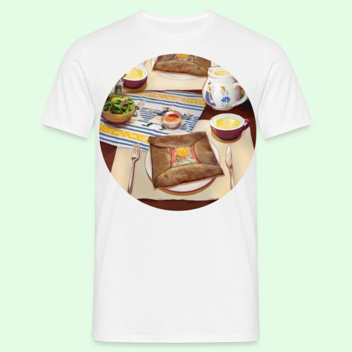 Flavors of Crepes - T-shirt Homme