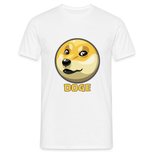 DOGE png - Camiseta hombre